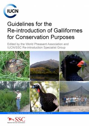 Guidelines for Reintroduction of Galliforms for Conservation Purposes
