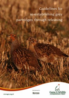 Guidelines for Re-establishing Grey Partridges Through Releasing