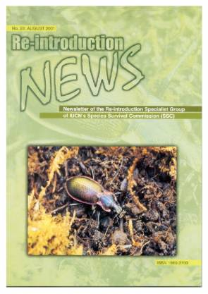 Re-introduction News August 2001
