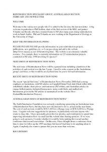 thumbnail of RSG Oceania Newsletter 2001