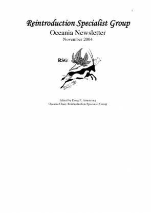 RSG Oceania Newsletter 2004