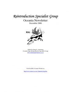 thumbnail of RSG Oceania Newsletter 2006