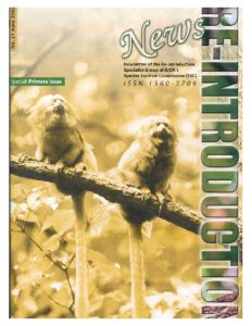 thumbnail of Guidelines for Nonhuman Primate Reintroductions