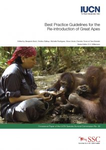 thumbnail of Guidelines for the Reintroduction of Great Apes