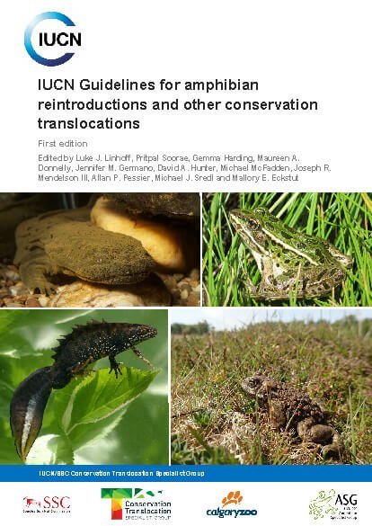 IUCN Guidelines for amphibian reintroductions and other conservation translocations